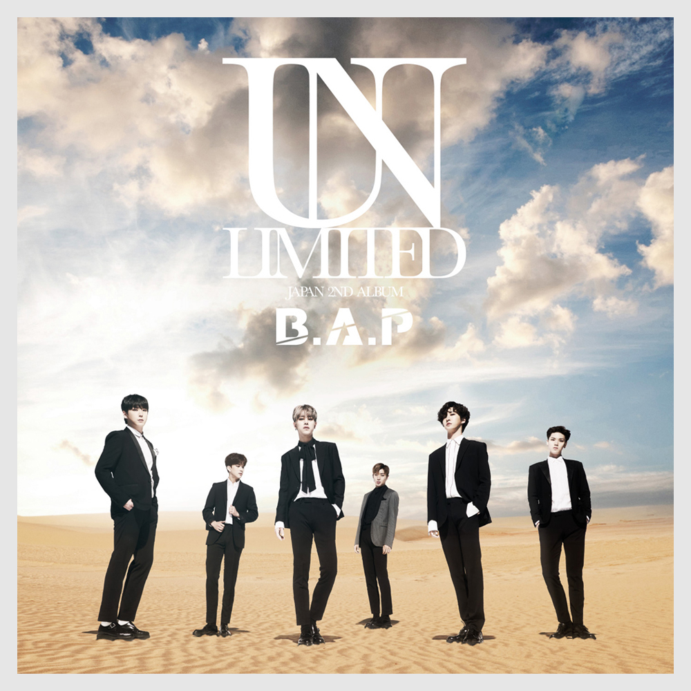 B.A.P JAPAN 2ND ALBUM「UNLIMITED」SPECIAL SITE 2017.6.28 OUT! Bap 1004 Album Cover