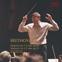 ベートーヴェン:交響曲第7番イ長調/交響曲第1番ハ長調