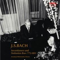 J.S.バッハ:インヴェンションとシンフォニア BWV.722~801