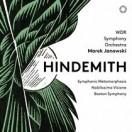パウル・ヒンデミット:ヴェーバーの主題による交響的変容,<br/>組曲「気高き幻想」,ボストン交響楽団~弦楽合奏と金管のための協奏音楽
