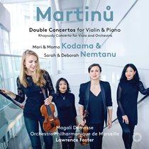 マルティヌー:2台のピアノのための協奏曲、ほか
