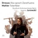 リヒャルト・シュトラウス:交響詩「ツァラトゥストラはかく語りき」、マーラー:交響詩「葬礼」、交響的前奏曲