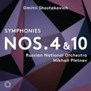 ショスタコーヴィッチ:交響曲第4&10番/<br/>プレトニョフ(指揮) ロシア・ナショナル管弦楽団
