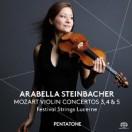 モーツァルト:ヴァイオリン協奏曲第3、4&5番