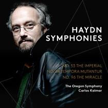 ハイドン:交響曲第53番 ニ長調 「帝国」 Hob.I:53