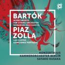 ピアソラ:ブエノスアイレスの四季、バルトーク:弦楽のためのディヴェルティメント、ルーマニア民族舞曲