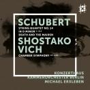 シューベルト:弦楽四重奏曲第14 番ニ短調《死と乙女》、ショスタコーヴィチ:室内交響曲
