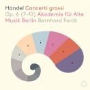 ヘンデル:合奏協奏曲 作品6より第7番~第12番